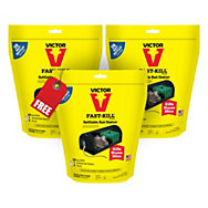 Victor® Fast-Kill® Refillable Bait Station with 20 Bait Refills - Buy 2 Get 1