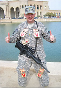 U.S. Army Spc. Christopher J. Fisher