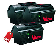 Victor® Multi-Kill™ Electronic Mouse Trap - Buy 2 Get 1 FREE